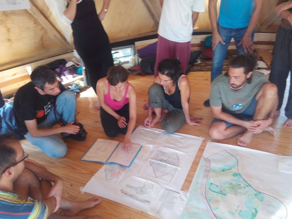 Curso Avanzado en Permacultura Cerro de los Burros 2017